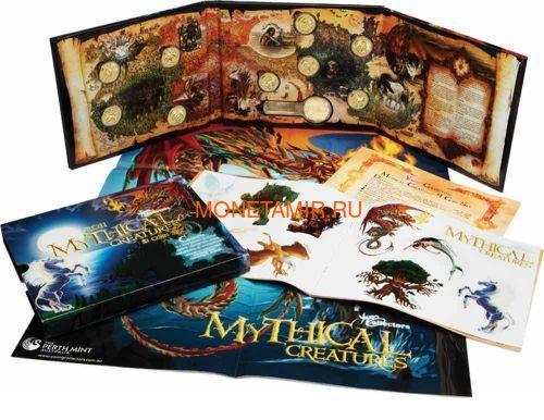 Австралия 9х1 доллар 2011 Мифические Герои Набор 9 монет (Australia 9x1$ 2011 Mythical Creatures Set).Арт.000240356173/63 (фото, вид 1)