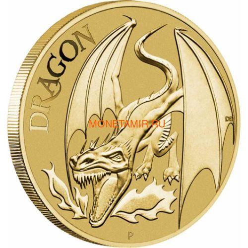 Австралия 9х1 доллар 2011 Мифические Герои Набор 9 монет (Australia 9x1$ 2011 Mythical Creatures Set).Арт.000240356173/63 (фото, вид 2)