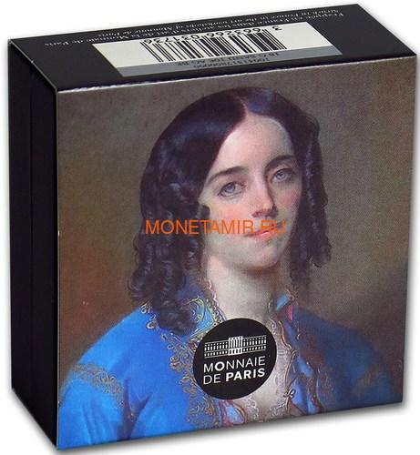 Франция 10 евро 2018 Жорж Санд серия Женщины Франции (France 10 Euro 2018 George Sand Chopin).Арт.000258256128/63 (фото, вид 5)