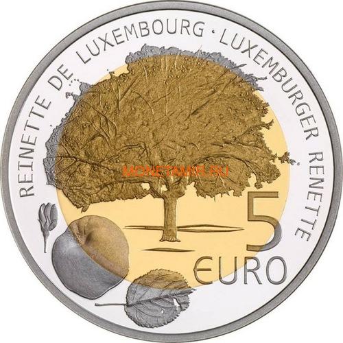 Люксембург 5 евро 2014 Дерево Яблоня Флора и Фауна Люксембурга (Luxemburg 5 Euro 2014 Aple Tree BM).Арт.000414450627/60 (фото, вид 1)