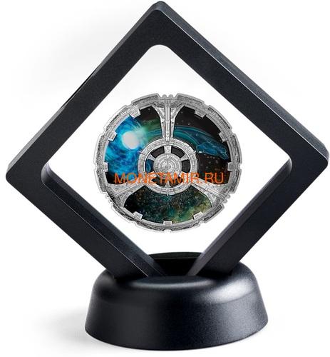 Канада 20 долларов 2018 Звездный Путь Глубокий Космос Девять (Canada 20$ 2018 Star Trek Deep Space Nine).Арт.63 (фото, вид 3)