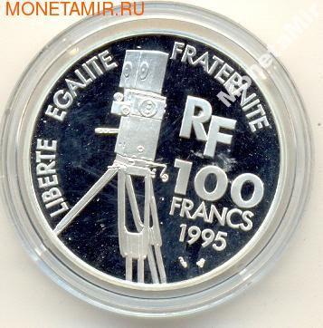 Франция 100 франков 1995. Жан Реноир (фото, вид 1)