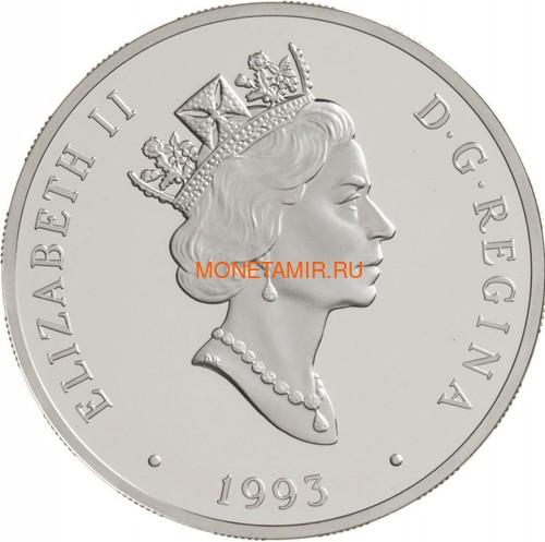 Канада 20 долларов 1993 Фэйрчайлд 71c Джеймс А.Ричардсон Авиация (Canada 20$ 1993 Aviation Series Fairchild 71c James A.Richardson 1oz Silver Coin).Арт.68 (фото, вид 1)