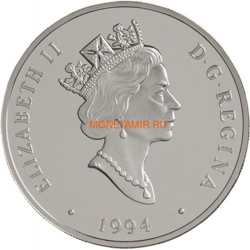 Канада 20 долларов 1994 Кертисс HS-2L Стюарт Грэхэм Авиация (Canada 20$ 1994 Aviation Series Curtis HS-2L Stuart Graham 1oz Silver Coin).Арт.68 (фото, вид 1)