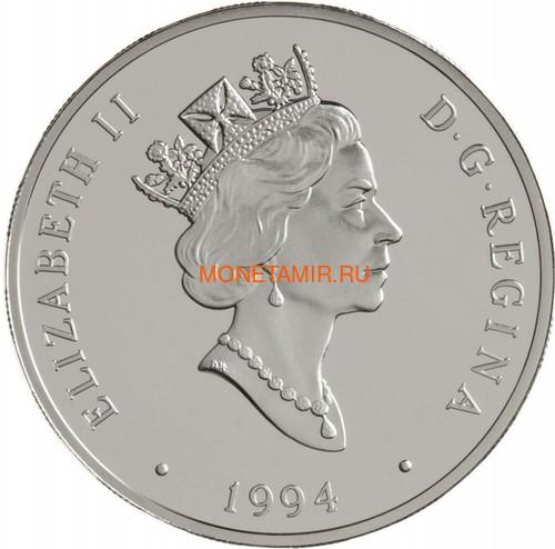 Канада 20 долларов 1994 Виккерс Vedette Уилфред Т.Рейд Авиация (Canada 20$ 1994 Aviation Series Vickers Vedette Wilfred T.Reid 1oz Silver Coin).Арт.68 (фото, вид 1)