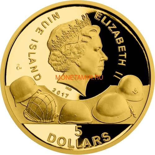 Ниуэ 4х5 долларов 2017 Великая Отечественная Война 1942 год Набор Золотых Монет Сталинград Эль Аламейн Мидуэй Проект Манхэттен Танк Корабль Бомба (Niue 4х5$ 2017 Set Gold Coins War 1942 Stalingrad El Alamein Midway Project Manhattan).Арт.005974654790K1,4G (фото, вид 5)