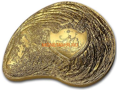 Палау 2х5 долларов 2014 Устрица с Жемчужиной Сокровища Моря Набор 2 Монеты (Palau 2x5$ 2015 Oyster Hyriopsis Cumingii Sea Treasures Pearl Set 2x1Oz).Арт. (фото, вид 4)
