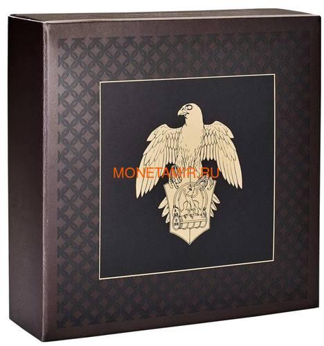 Великобритания 2 фунта 2019 Сокол Плантагенетов серия Звери Королевы (GB 2£ 2019 Queen's Beast The Falcon of the Plantagenets).Арт.70 (фото, вид 4)