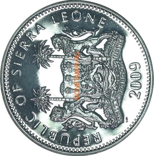 Сьерра Леоне 1 доллар 2009 Майкл Джексон (Sierra Leone 1$ 2009 Michael Jackson).Арт.000050338789/60 (фото, вид 1)