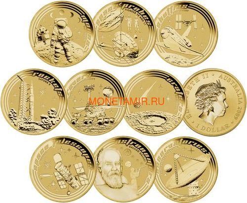 Австралия 2009 Космос Юный Коллекционер Набор 9 Монет (Australia 2009 Space Young Collectors Complete 9 Coin Set).Арт.000391146085/60 (фото, вид 3)