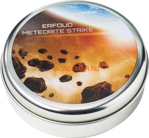 Острова Кука 2 доллара 2018 Метеорит Эрфуда (Cook Isl 2$ 2018 Erfoud Meteorite NWA 6827 1/2Oz 999 Silv).Арт.69 (фото, вид 6)