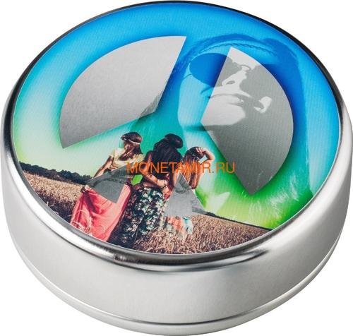 Палау 5 долларов 2018 Лето Любви (Palau 5$ 2018 Summer of Love 1Oz Silver Coin).Арт.67 (фото, вид 6)