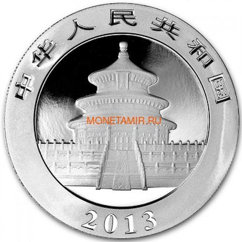 Китай 10 юаней 2013 Панда (China 10 Yuan 2013 Panda 1oz Silver Coin).Арт.001200143370/67 (фото, вид 1)