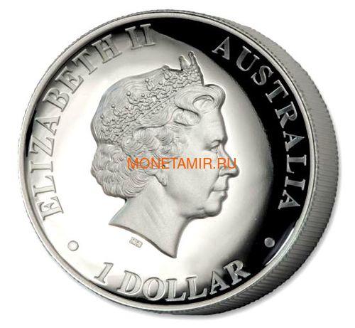 Австралия 1 доллар 2018 Орел Австралийский Клин-Белохвост (Australia 1$ 2018 Wedge-Tailed Eagle High Relief 1oz Coin Silver).Арт.000416056446/69 (фото, вид 1)