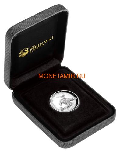 Австралия 1 доллар 2018 Орел Австралийский Клин-Белохвост (Australia 1$ 2018 Wedge-Tailed Eagle High Relief 1oz Coin Silver).Арт.000416056446/69 (фото, вид 2)