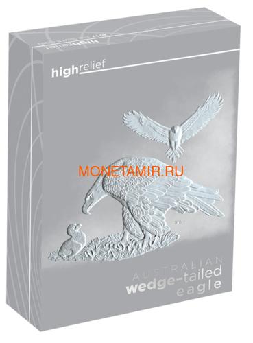 Австралия 1 доллар 2018 Орел Австралийский Клин-Белохвост (Australia 1$ 2018 Wedge-Tailed Eagle High Relief 1oz Coin Silver).Арт.000416056446/69 (фото, вид 3)