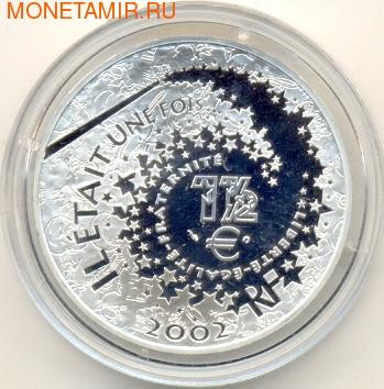 Франция 1 1 /2 евро 2002. Золушка (фото, вид 1)