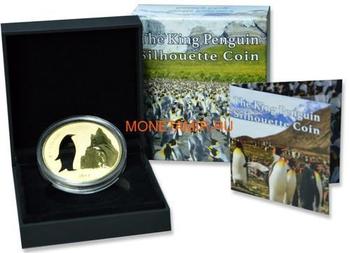 Гана 5 седи 2017 Пингвин Силуэт (Ghana 5 Cedis 2017 Penguin Silhouette 1oz Silver Coin).Арт.000419754963 (фото, вид 2)