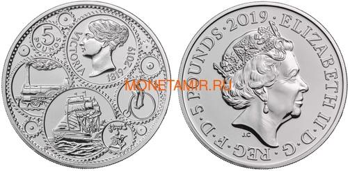 Великобритания Полный Годовой Набор 2019 (The 2019 UK Brilliant Uncirculated Annual Coin Set).Арт.67 (фото, вид 2)