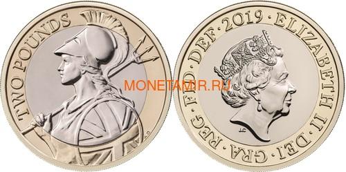 Великобритания Полный Годовой Набор 2019 (The 2019 UK Brilliant Uncirculated Annual Coin Set).Арт.67 (фото, вид 7)