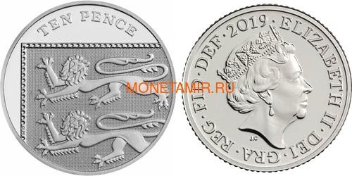 Великобритания Полный Годовой Набор 2019 (The 2019 UK Brilliant Uncirculated Annual Coin Set).Арт.67 (фото, вид 11)