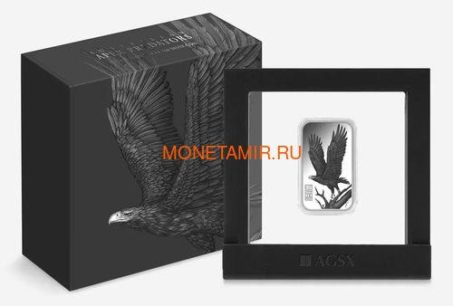 Острова Кука 1 доллар 2016 Орел Хищники Австралии (Cook Islands 1$ 2016 Eagle Australian Apex Predators Silver Coins).Арт.67 (фото, вид 2)
