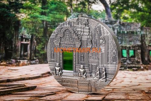 Палау 50 долларов 2019 Ангкор Кхмерская Архитектура серия Тиффани Килограмм (Palau 50$ 2019 Angkor Tiffany Art Kilo Silver Coin).Арт.67 (фото, вид 2)