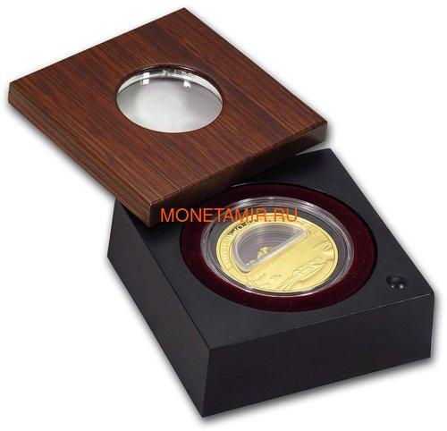 Австралия 100 долларов 2010 Сокровища Австралии Инкапсулированным Золотом (Australia 100$ 2010 Treasures of Australia Gold 1oz Gold Proof Coin).Арт.K3,5G (фото, вид 2)