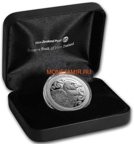 Новая Зеландия 5 долларов 2019 Птица Такахе (New Zealand 5$ 2019 North Island Takahe Silver Proof Coin).Арт.67 (фото, вид 2)
