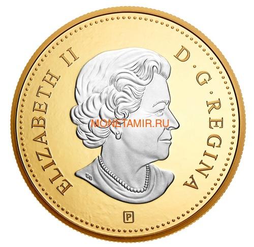Канада 10 центов 2019 Шхуна Блюноуз серия Большие Монеты (Canada 10 Cent 2019 Big Coin Series Bluenose 5 oz Silver Coin).Арт.67 (фото, вид 2)