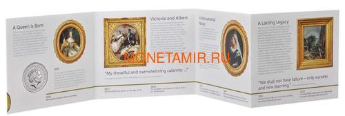 Великобритания 5 фунтов 2019 Королева Виктория 200 лет Корабль Паровоз Велосипед (GB 5£ 2019 200th Anniversary of the Birth of Queen Victoria Brilliant Uncirculated Coin) Блистер.Арт.67 (фото, вид 5)