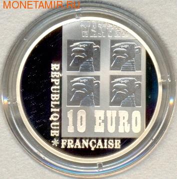Франция 10 евро 2009. Удачливый Люк. (фото, вид 1)