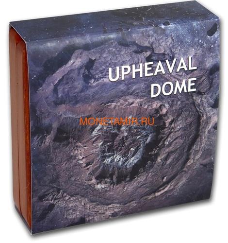 Ниуэ 1 доллар 2019 Метеоритный Кратер Апхивал (Niue 1$ 2019 Upheaval Meteorite Crater Coin Silver).Арт.65 (фото, вид 6)