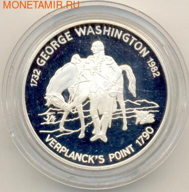 Джордж Вашингтон с лошадью (фото)