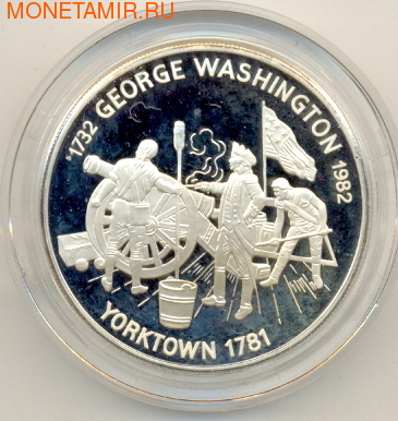 Джордж Вашингтон с орудием (фото)