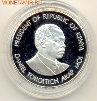 Даниель Торотич Арап. Кения 1000 шиллингов 1991. (фото)