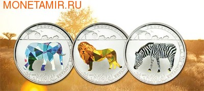 Того 3х1000 франков 2011.Слон Лев Зебра - Защита дикой природы (призма).Арт.000672934328/60 (фото)
