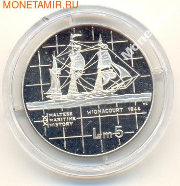 """Серия """"Мальтийская морская история"""" : """" Wignacourt (1844)"""" (фото)"""