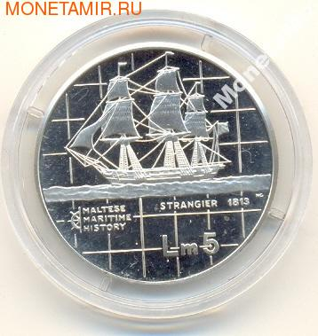 """Серия """"Мальтийская морская история"""": """"Strangier"""" (1813)"""