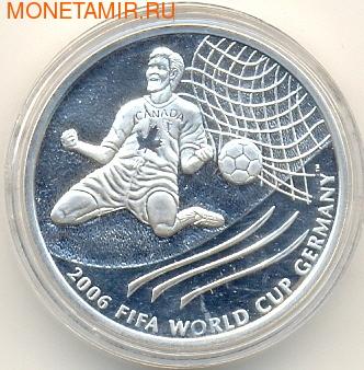 Канада 5 долларов 2003. Чемпионат мира по футболу. Германия 2006