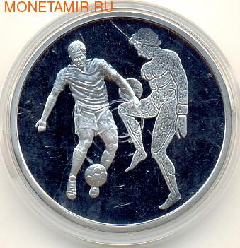 Греция 10 евро 2004. Олимпиада - Афины 2004. Футбол (фото)