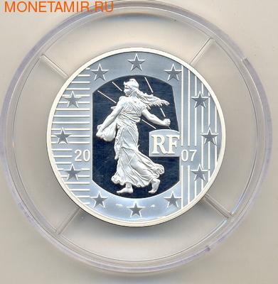 Франция 5 евро 2007. Сеятель (фото)