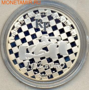 Франция 1 1/2 евро 2007. F-1 Рено