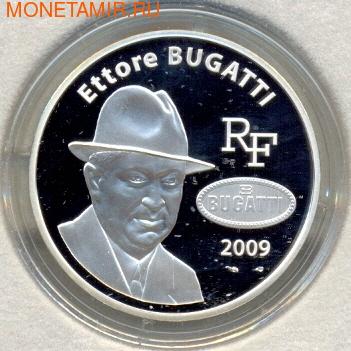 Эторе Бугатти. Франция 10 евро 2009. (фото)