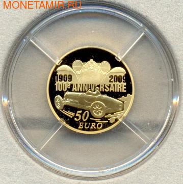 Эторе Бугатти. Франция 50 евро 2009. (фото)