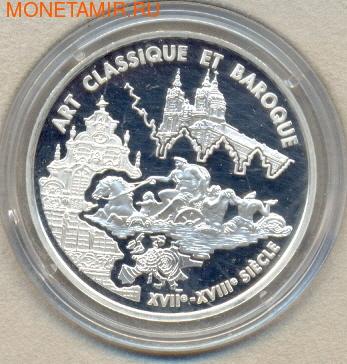 Франция 6,55957 франков 2000. Искусство : барокко и классика (фото)