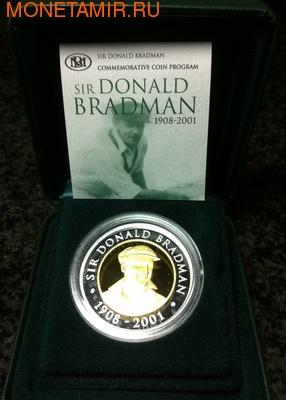 Австралия 20 долларов 2001. Дональд Бродман 1908-2001 (фото)