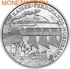 """Австрия 20 евро 2007. """"Железная дорога императора Фердинанда""""."""
