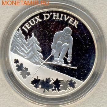 Франция 10 евро 2009. Горные лыжи (фото)