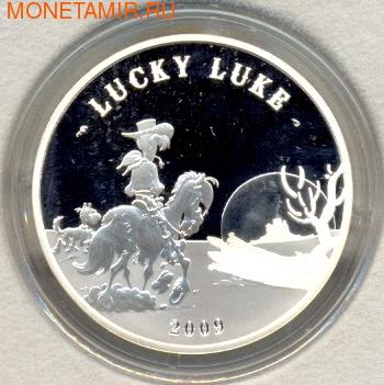 Франция 10 евро 2009. Удачливый Люк. (фото)